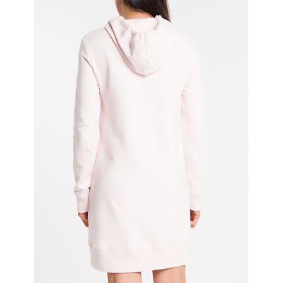 Vestido Malha Curto Logo Mlt Reat Gh - Blush