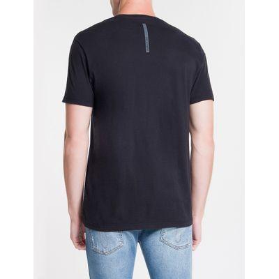 Camiseta Mc Regular Logo Reat Gc Pride - Preto