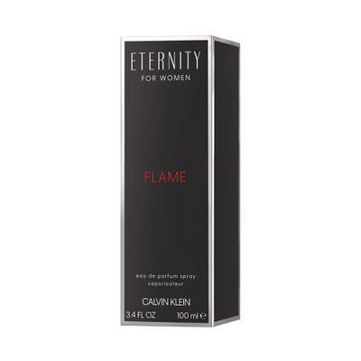 Perfume Eternity Flame Feminino Vapo Calvin Klein 100ml - Eau de Parfum