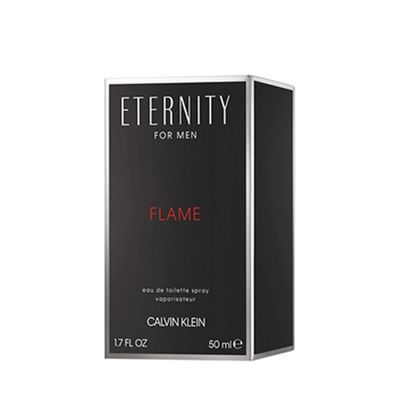 Perfume Eternity Flame Masculino Vapo Calvin Klein 50ml - Eau de Toilette
