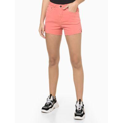 Shorts Color Five P Sarja Sulf - Laranja