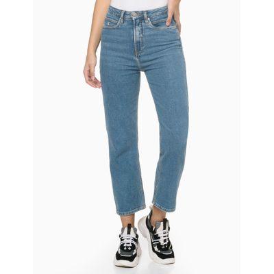 Calça Jeans Six Pckts Bordado Ck1 - Azul Médio