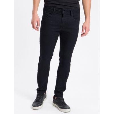 Calça Jeans Five Pockets Skinny - Preto