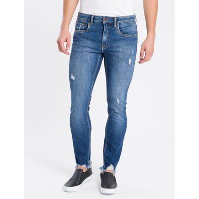 Calça Jeans Super Skinny Sustentavel - Azul Médio