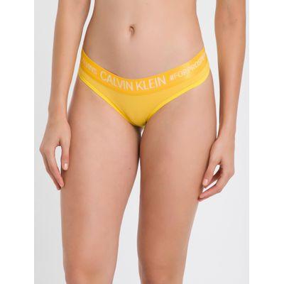 Calcinha Tanga Reveillon Cotton - Amarelo