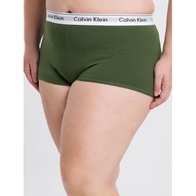 Short Modern Cotton Plus Size - Verde Militar