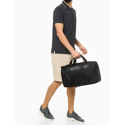 Mala Weekender Em Nylon Sustainable - Preto