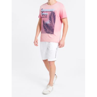 Bermuda Color C/ Elástico E Silk - Branco
