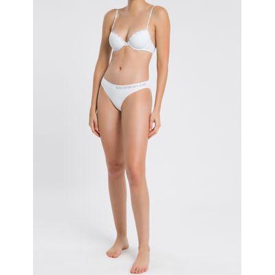 Kit 2 Tangas Sem Costura Calvin Klein Underwear Branco