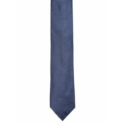 Gravata Micropadrão - Azul Marinho