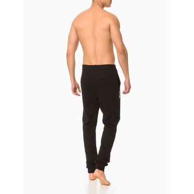 Calça Moletom Masculina CK One Preta Loungewear Calvin Klein