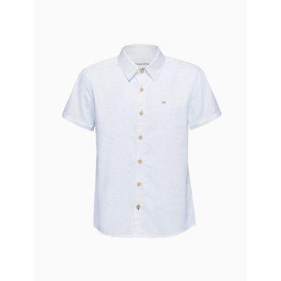 Camisa Mc F Liso S Bols N/D - Branco