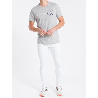 Calça Color Five P Skinny Sarja Reat - Branco