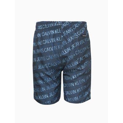 Shorts Dagua Regular Estamp Outros - Azul Marinho