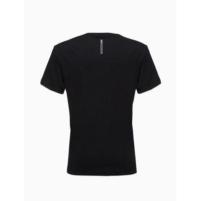 Camiseta Mc Silk Meia Rolo Gc Connection - Preto