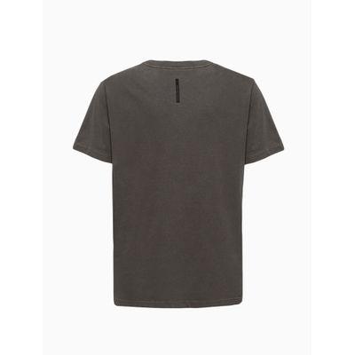 Camiseta Masculina Infantil Estonada Chumbo Calvin Klein Jeans