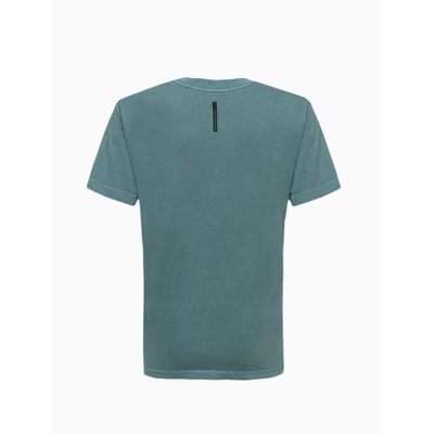Camiseta Masculina Infantil Logo Estampado Verde Calvin Klein Jeans