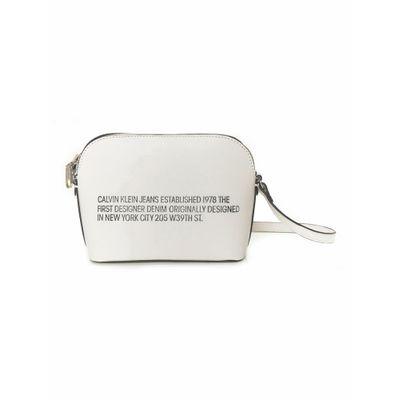 Bolsa Pequena Sculpted Established - Branco