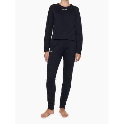 Casaco Feminino CK One Preto Loungewear Calvin Klein
