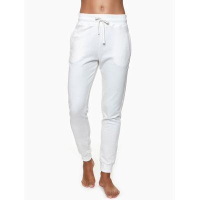 Calça Feminina Moletom Nude Loungewear Calvin Klein