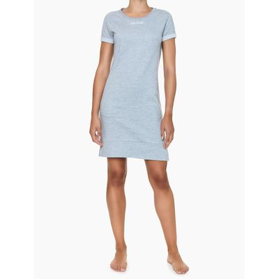 Vestido CK One Cinza Mescla Loungewear Calvin Klein