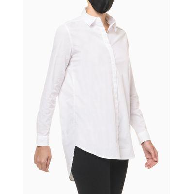 Camisa Ml Reg Termo Alg - Branco