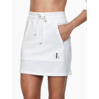 Saia Moletom CK One Nude Loungewear Calvin Klein