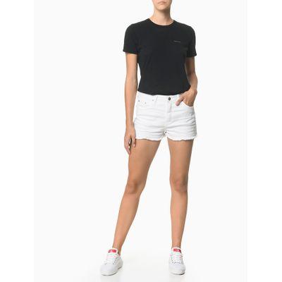 Shorts Color Five P Sarja Reat - Branco
