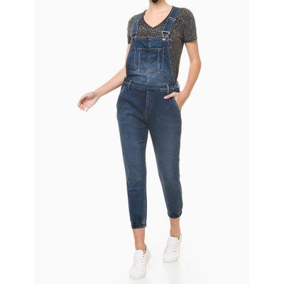 Blusa Feminina Respingos Preta Calvin Klein Jeans