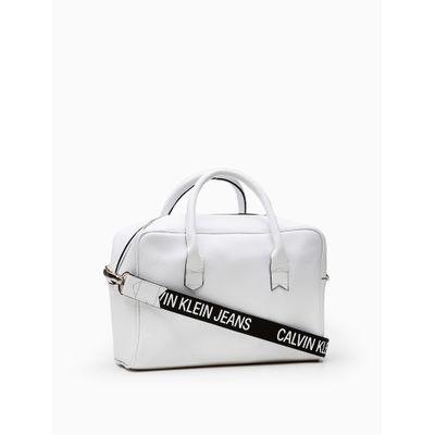 Bolsa Retangular Alça Personalizada - Branco