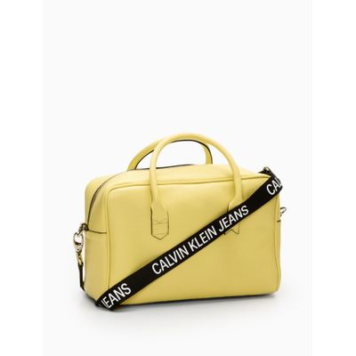 Bolsa Retangular Alça Personalizada - Amarelo Claro