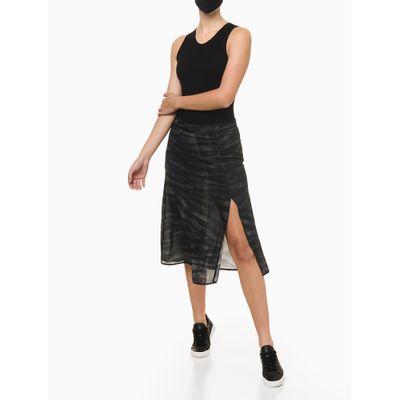 Body Regata Feminino Básico Preto Calvin Klein Jeans