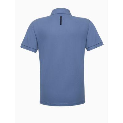 Polo Mc Piq Basic Reissue Termoc Peito - Azul Médio