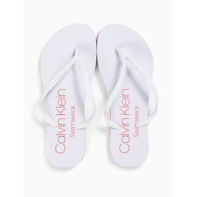 Chinelo Swimwear Fem Básico - Branco
