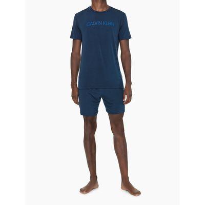 Pijama Mc E Bermuda Viscolight - Azul Marinho