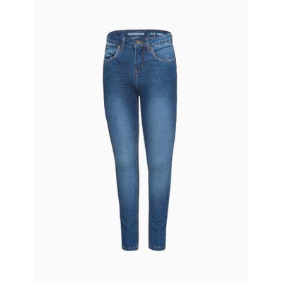 Calça Jeans Jegging High Five Pockets - Azul Médio
