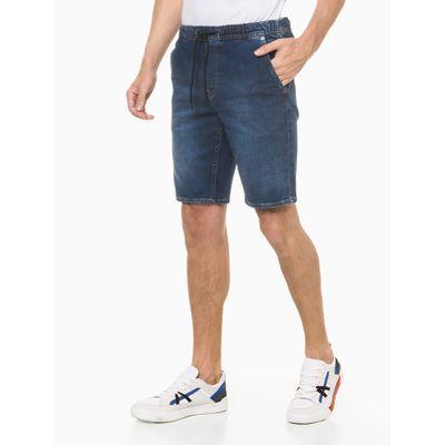 Bermuda Jeans Fam Indigo - Azul Marinho