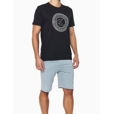 Camiseta Careca Alg Icon Cotton Louge - Preto