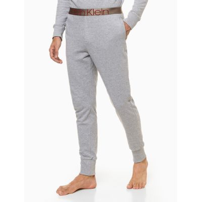 Calça Moletom Icon Cotton Loungewear - Cinza Mescla