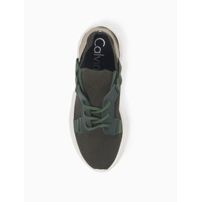 Tênis Wear Tricot Comfort - Verde Militar