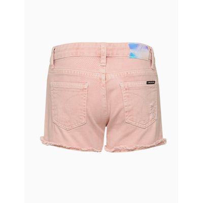 Shorts Color Five Pockets Puído - Rosa
