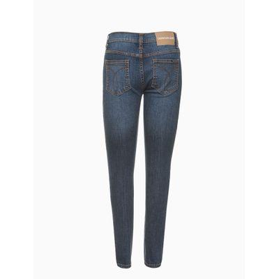 Calça Jeans Five Pockets Super Skinny - Azul Marinho
