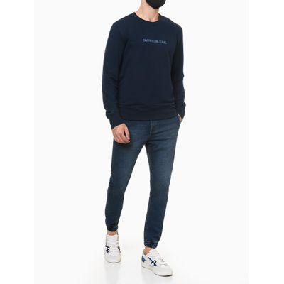 Calça Jeans Athletic Taper - Azul Marinho