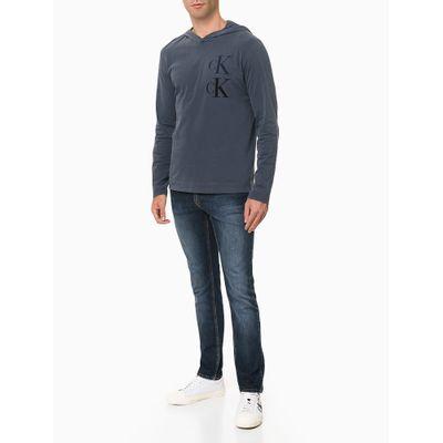 Calça Jeans Masculina Skinny Premium Azul Marinho Calvin Klein Jeans