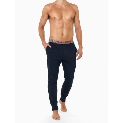Calça Moletom Icon Cotton Loungewear - Azul Marinho