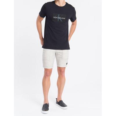 Camiseta Masculina Estampa Logo Preta Calvin Klein Jeans