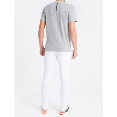 Camiseta Masculina Mescla Cinza Calvin Klein Jeans