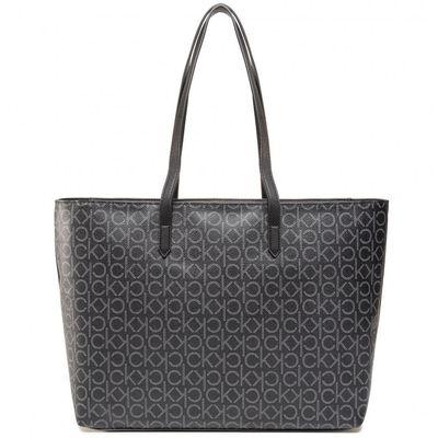 Bolsa Shopping Bag Monograma - Preto