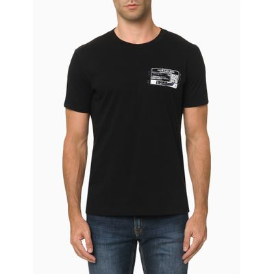 Camiseta Mc Ckj Masc Qrcode - Preto