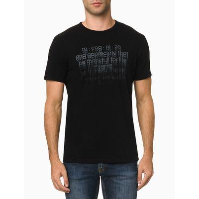 Camiseta Mc Ckj Masc Recognize - Preto
